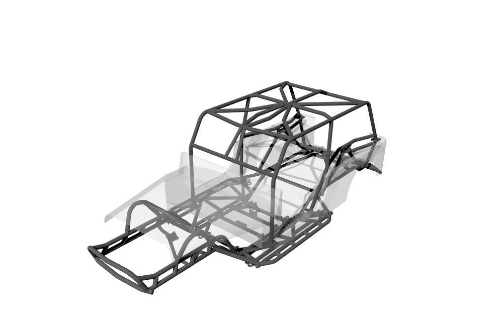 JC Jeep Chassis for LJ