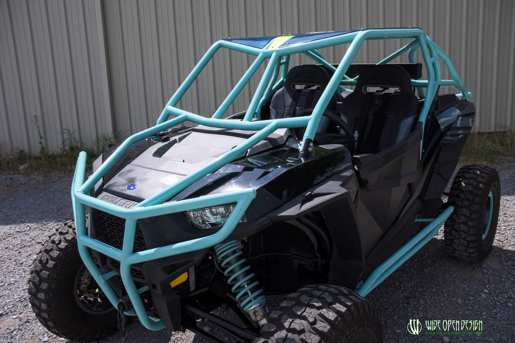 Wide Open Design UTV Cage RZR Cage Double Down featuring Double Pillars 9