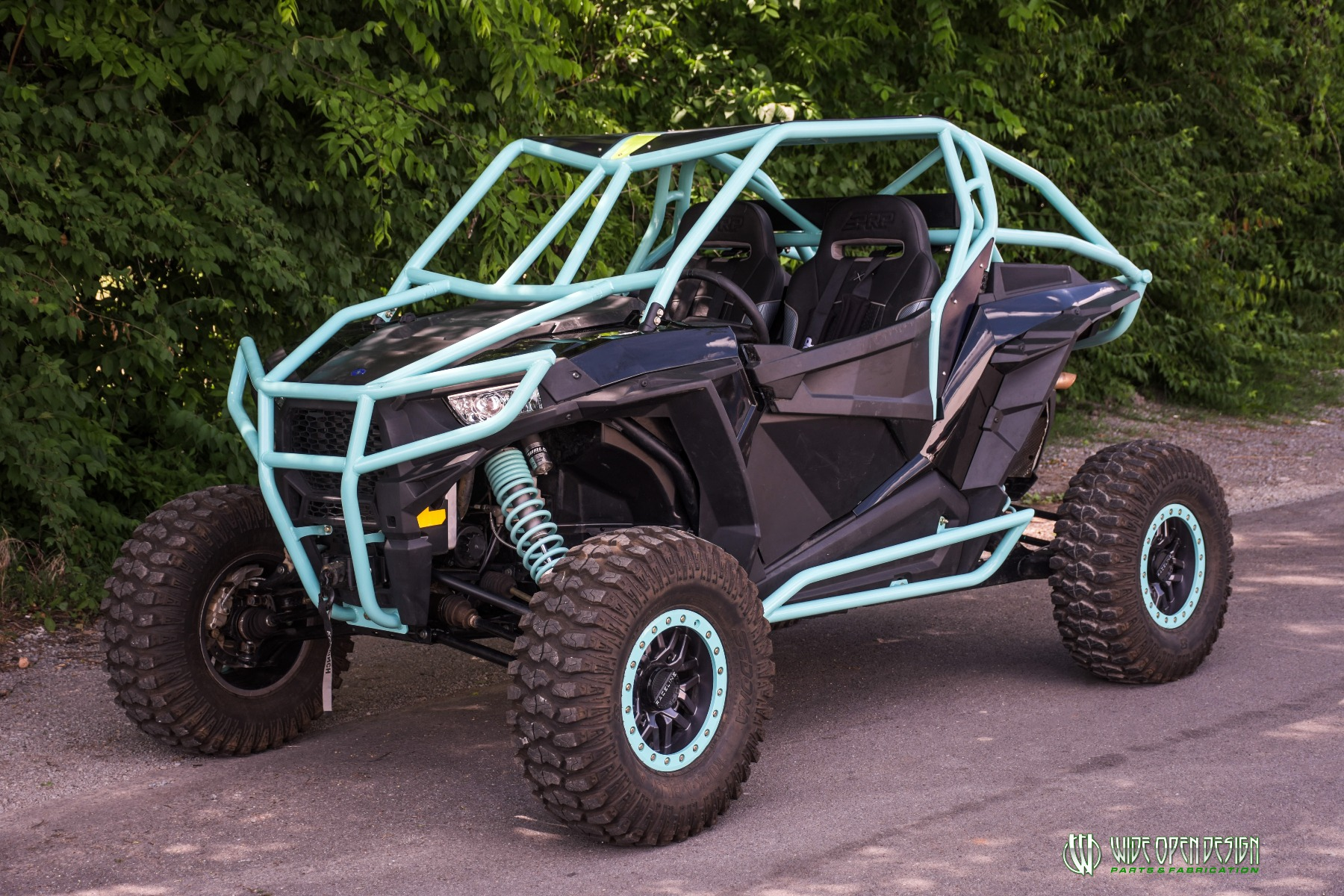 Wide Open Design UTV Cage RZR Cage Double Down featuring Double Pillars 15