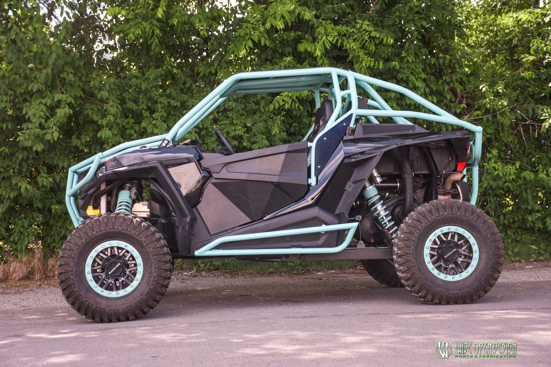 Wide Open Design UTV Cage RZR Cage Double Down featuring Double Pillars 2