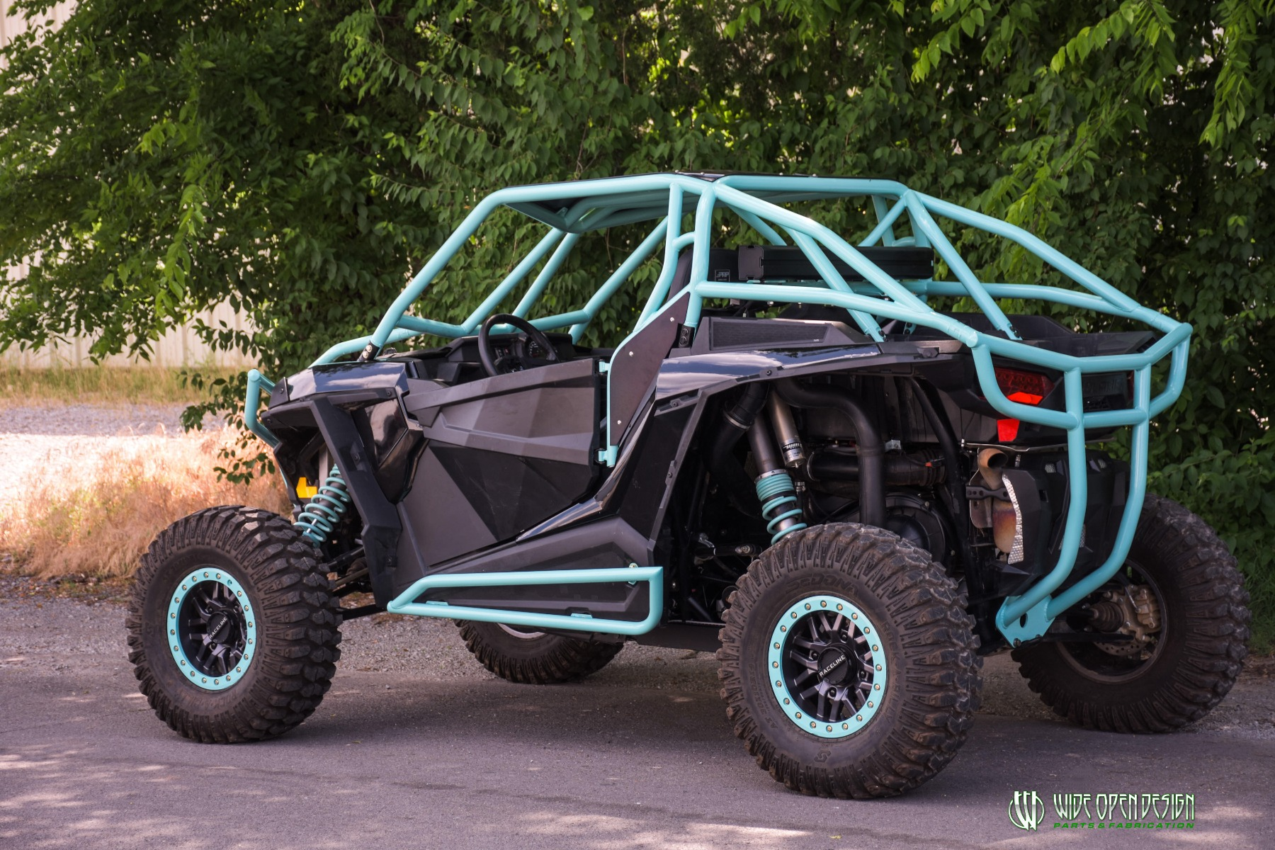 Wide Open Design UTV Cage RZR Cage Double Down featuring Double Pillars 3
