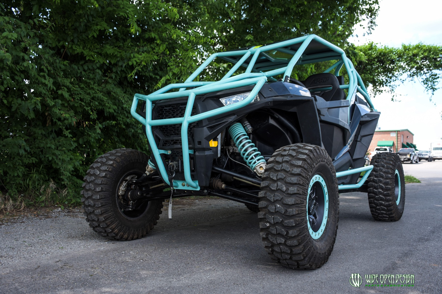 Wide Open Design UTV Cage RZR Cage Double Down featuring Double Pillars 17