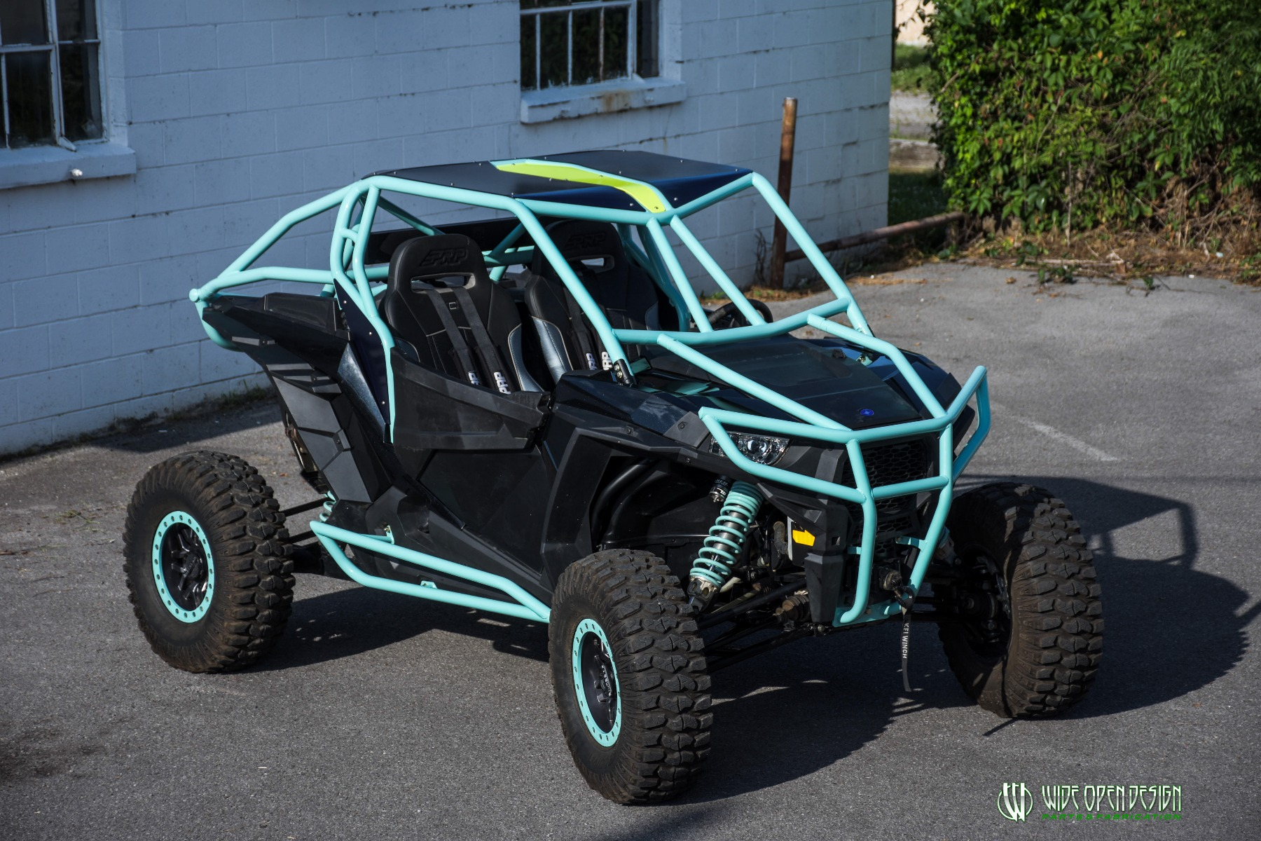 Wide Open Design UTV Cage RZR Cage Double Down featuring Double Pillars 21