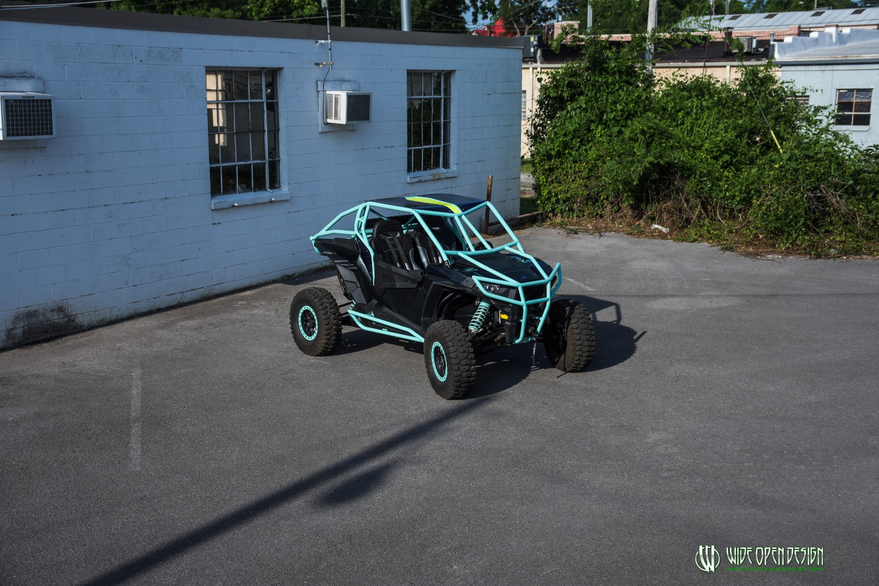 Wide Open Design UTV Cage RZR Cage Double Down featuring Double Pillars 22