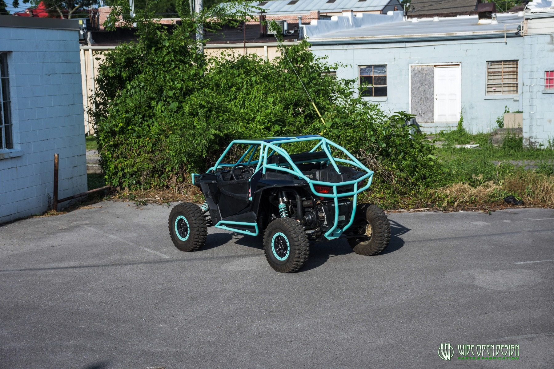 Wide Open Design UTV Cage RZR Cage Double Down featuring Double Pillars 24