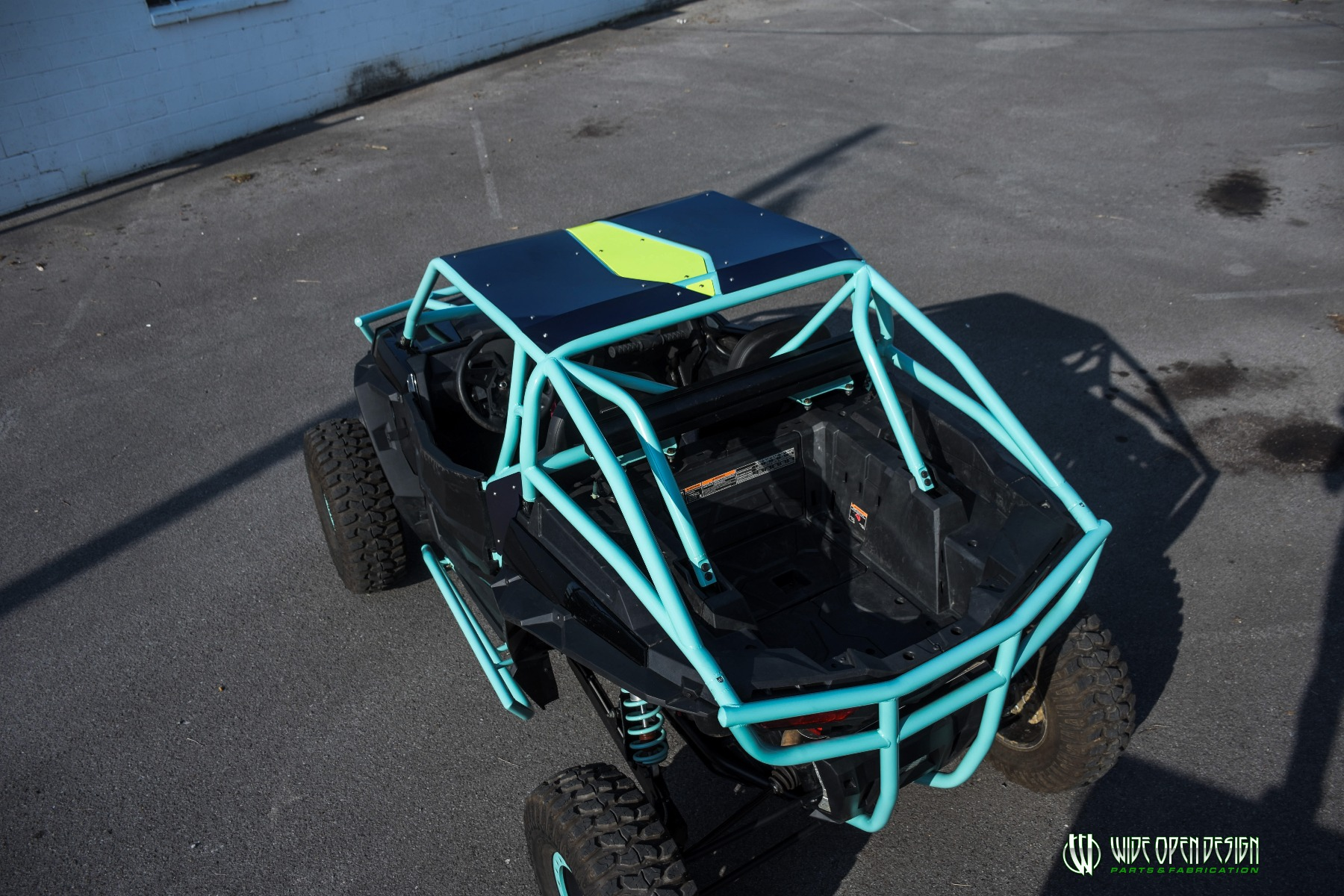 Wide Open Design UTV Cage RZR Cage Double Down featuring Double Pillars 25