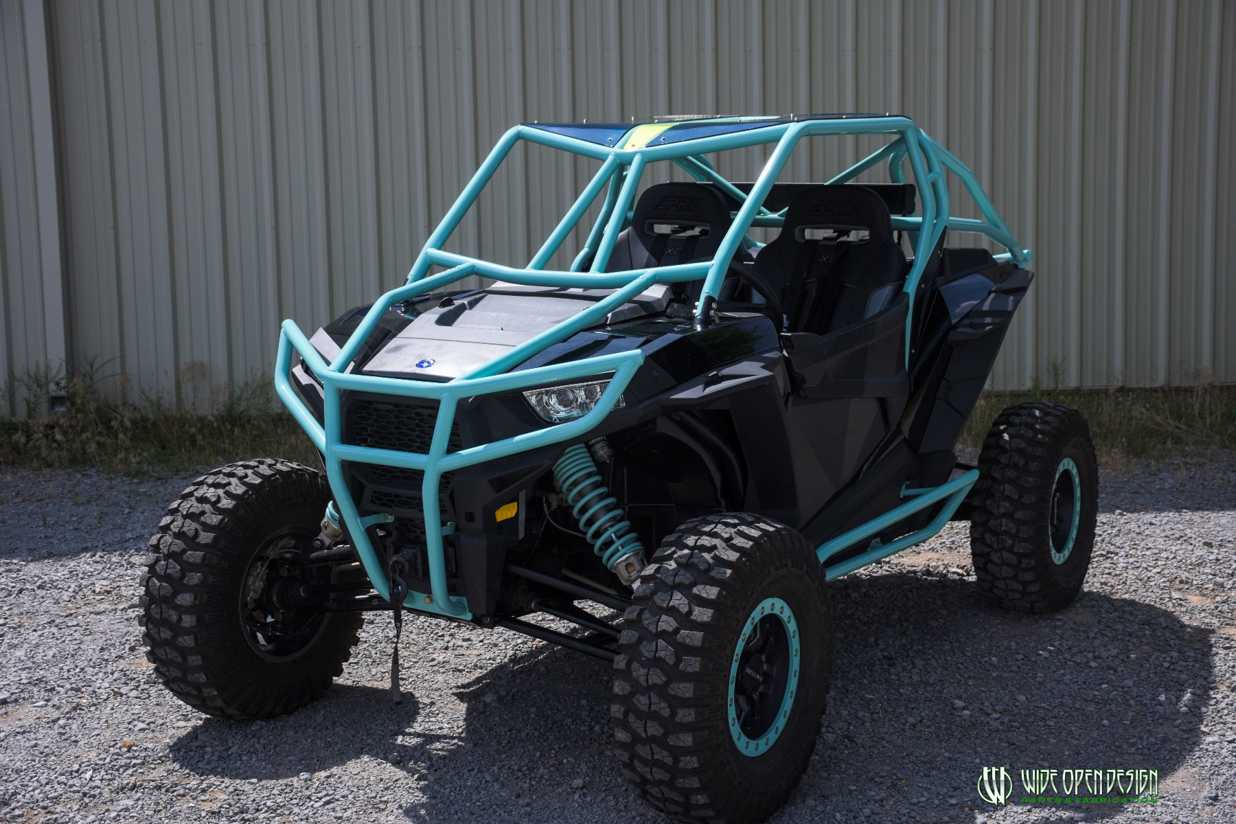 Wide Open Design UTV Cage RZR Cage Double Down featuring Double Pillars 29