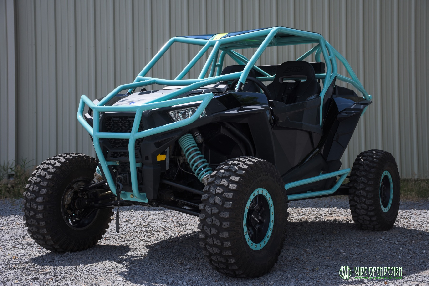 Wide Open Design UTV Cage RZR Cage Double Down featuring Double Pillars 30