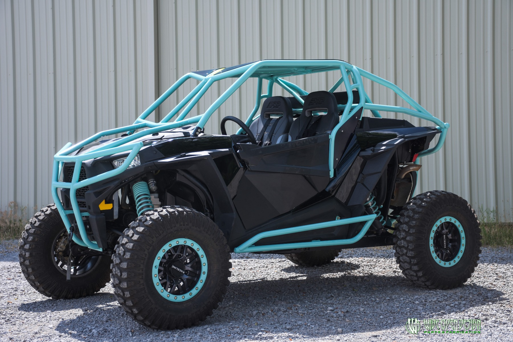 Wide Open Design UTV Cage RZR Cage Double Down featuring Double Pillars 31