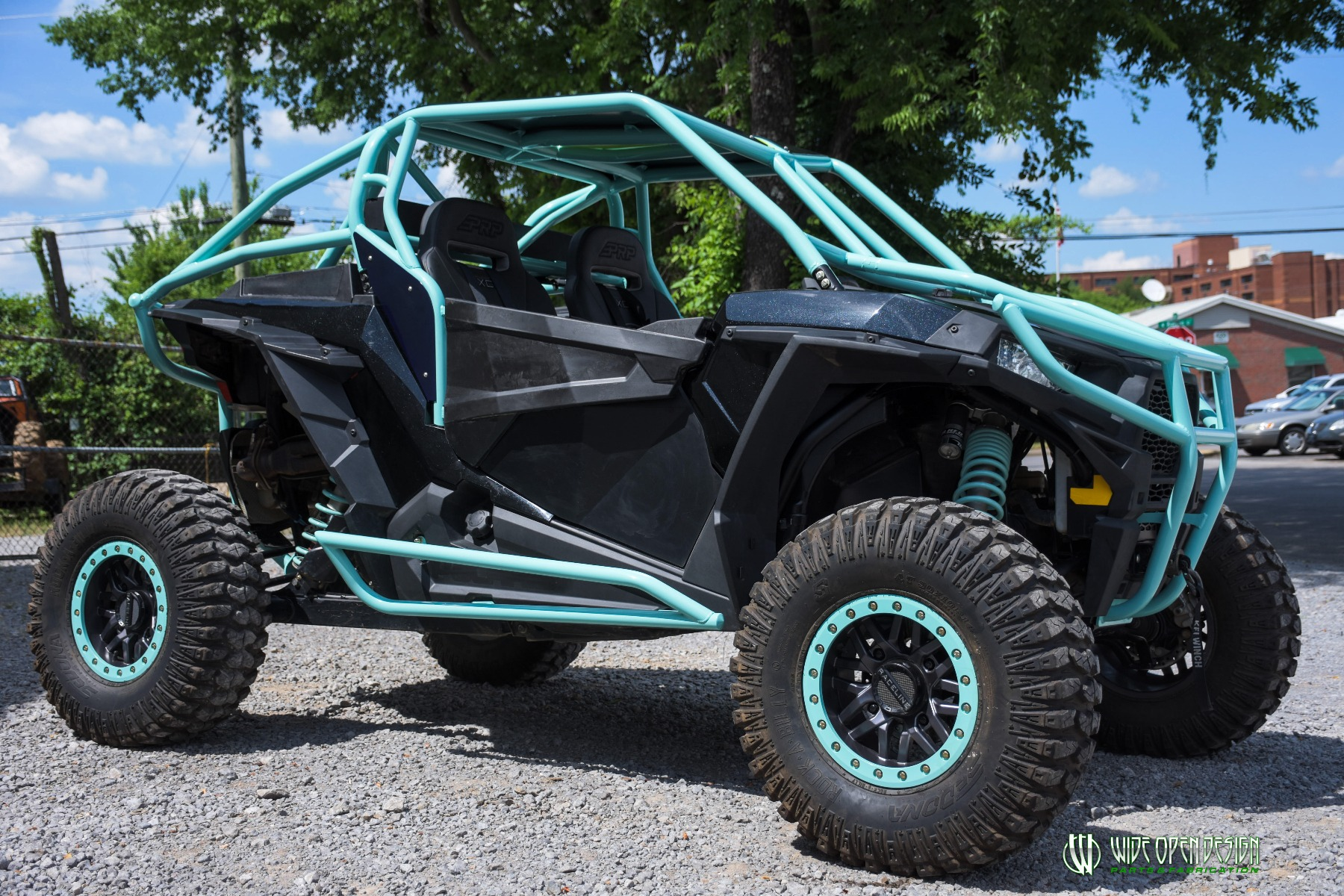 Wide Open Design UTV Cage RZR Cage Double Down featuring Double Pillars 35