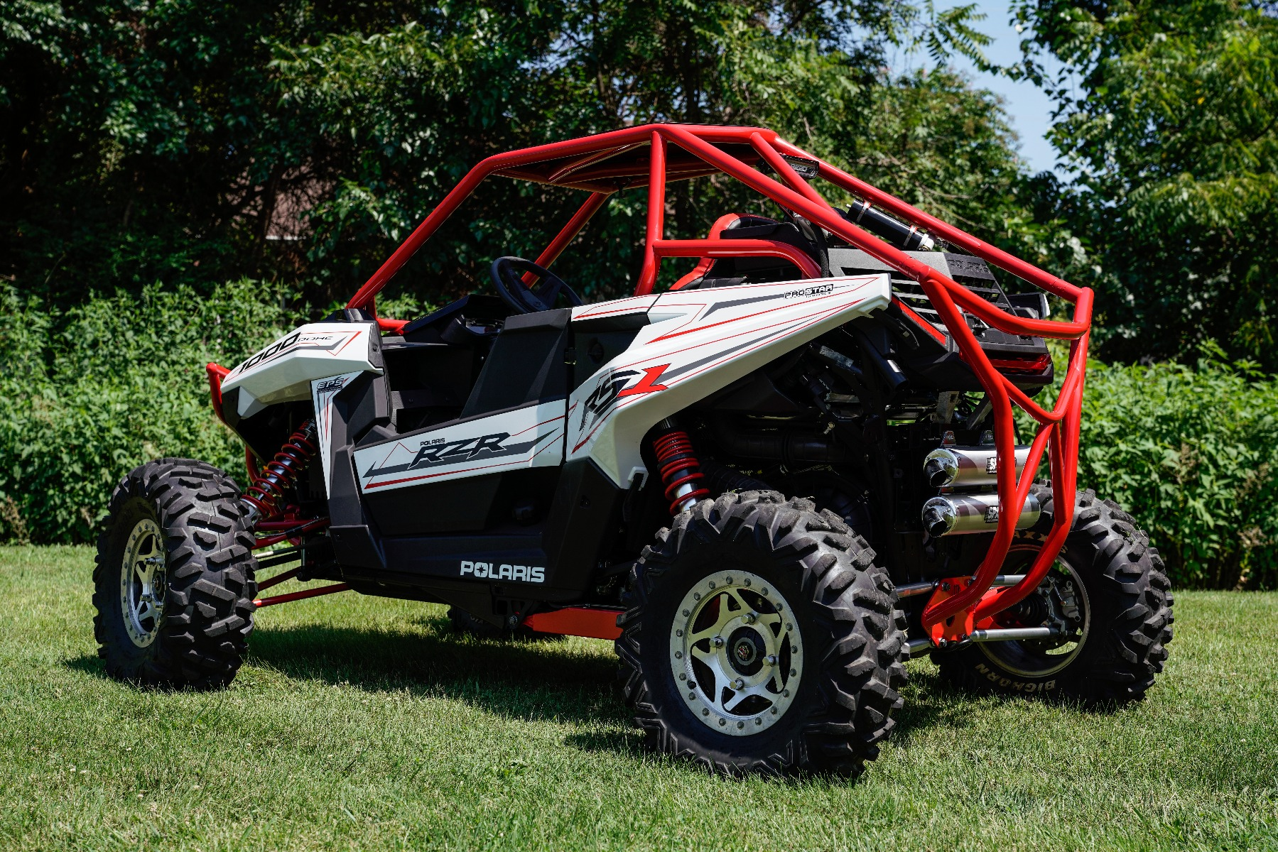 Polaris RZR RS1 Roll Cage Rear Image 1