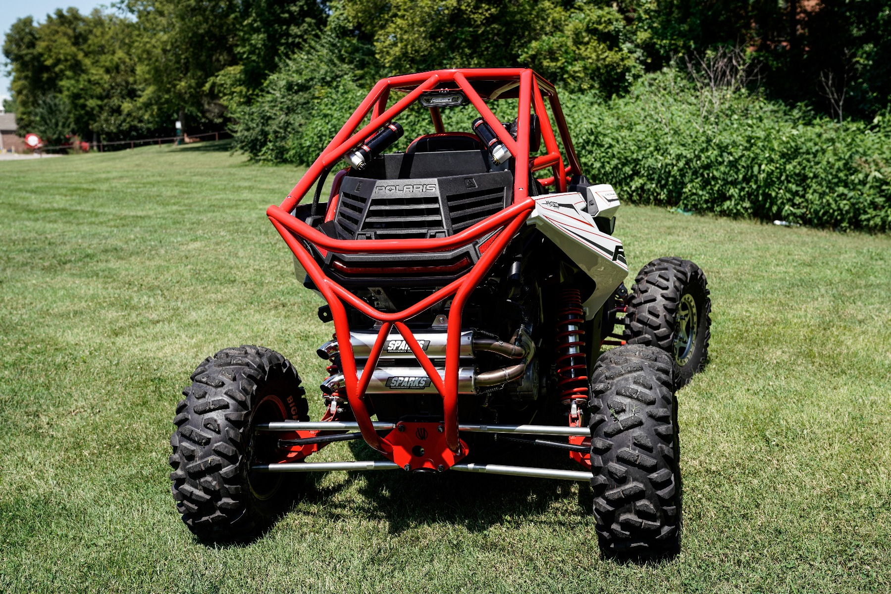 Polaris RZR RS1 Roll Cage Rear Image 3