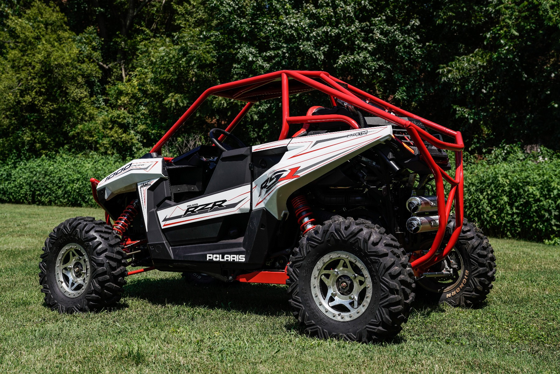 Polaris RZR RS1 Roll Cage Rear Image 4