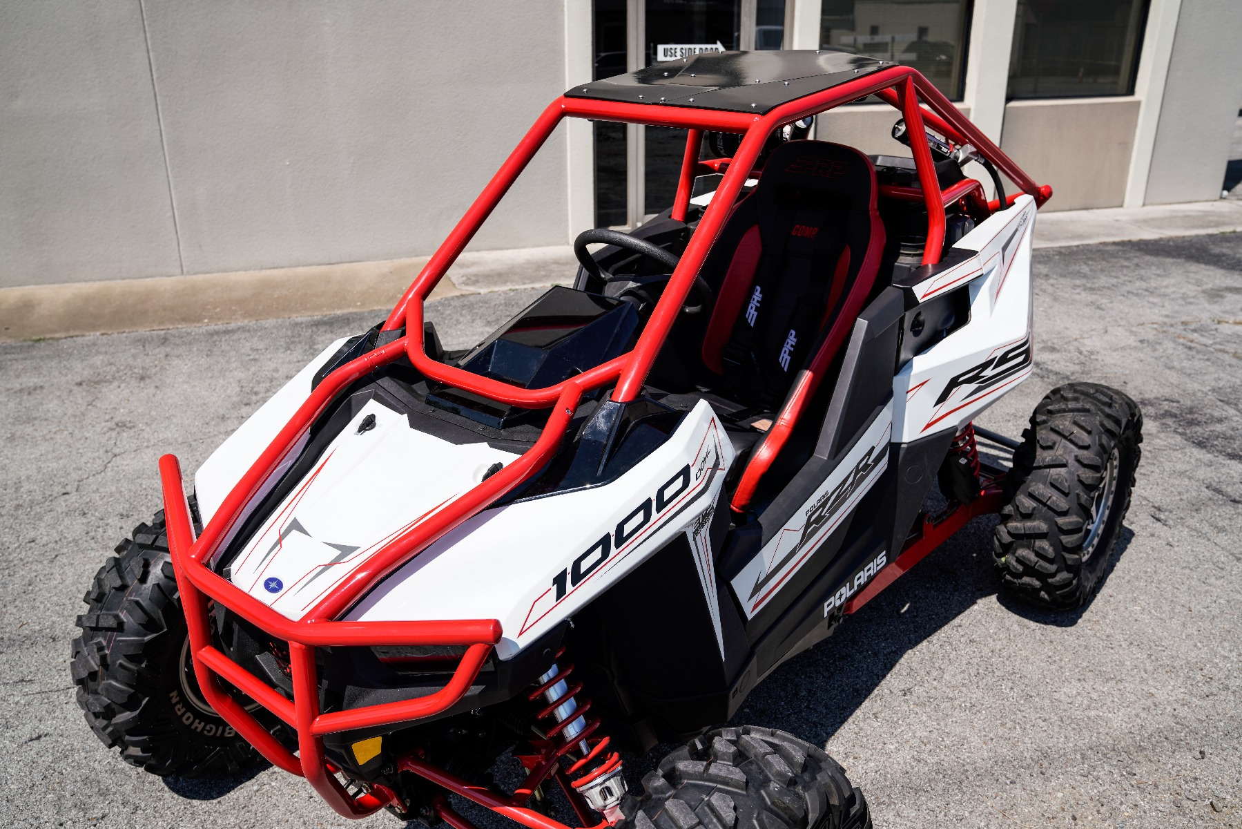 Polaris RZR RS1 Roll Cage in front of Wide Open Design Image 7