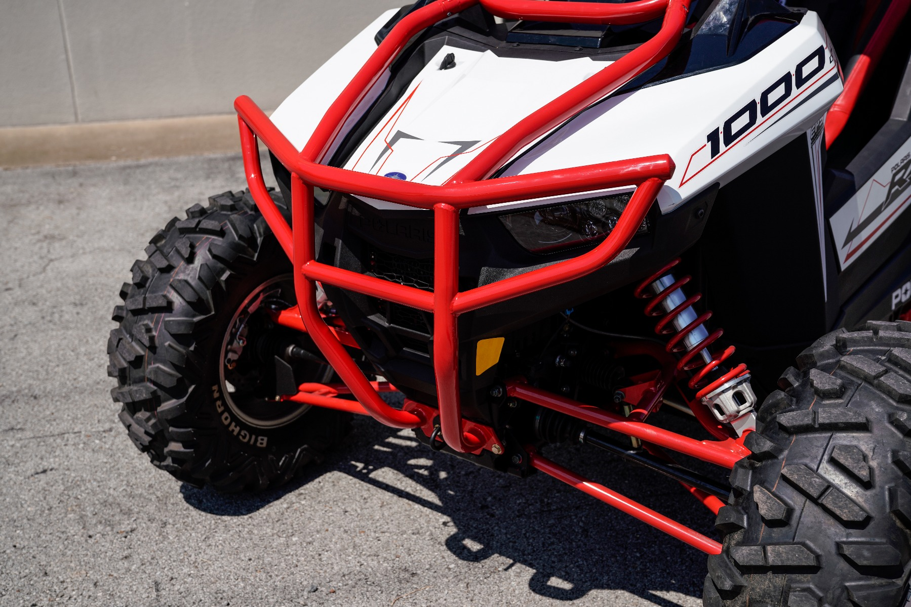 Polaris RZR RS1 Roll Cage in front of Wide Open Design Image 8