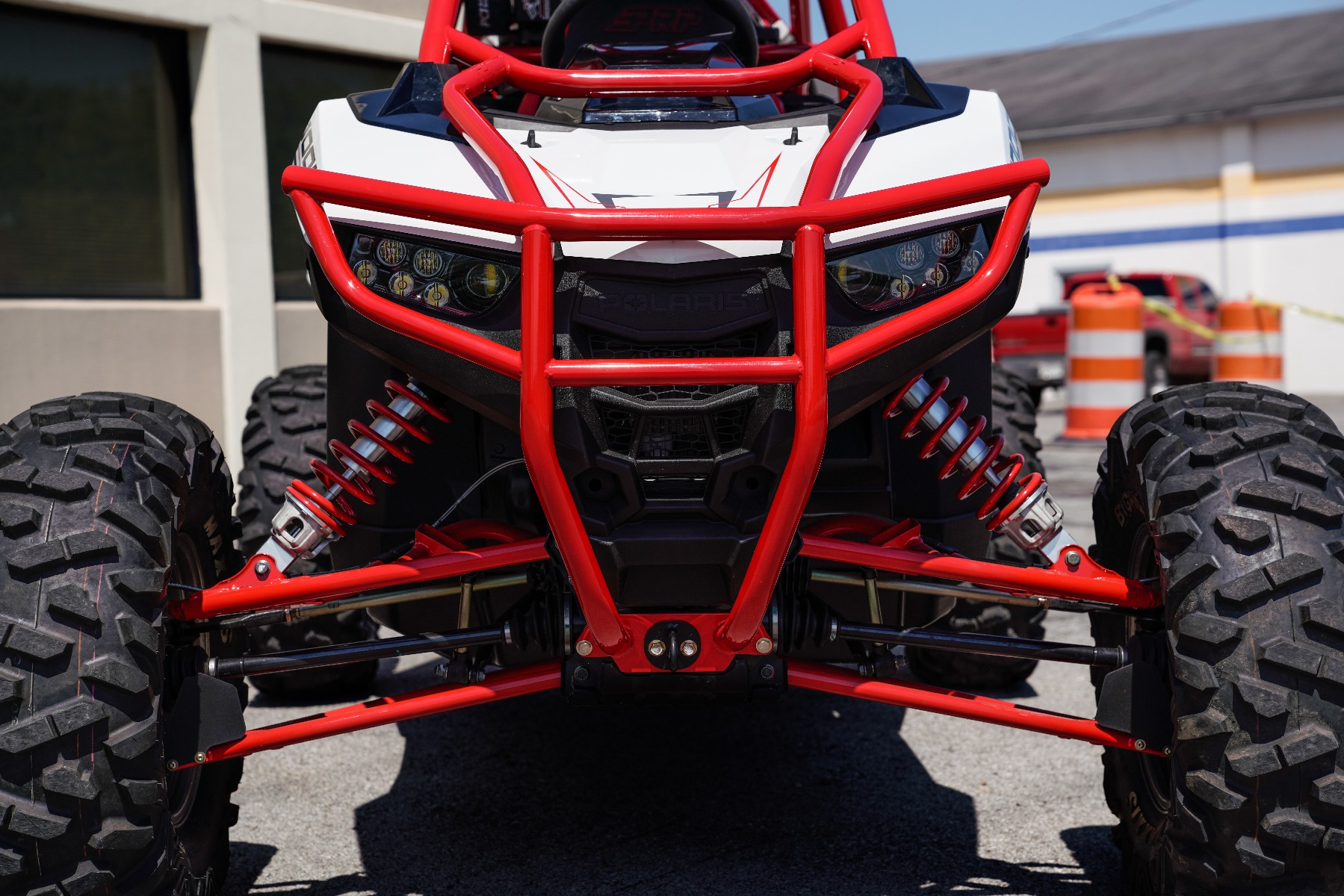 Polaris RZR RS1 Roll Cage in front of Wide Open Design Image 9