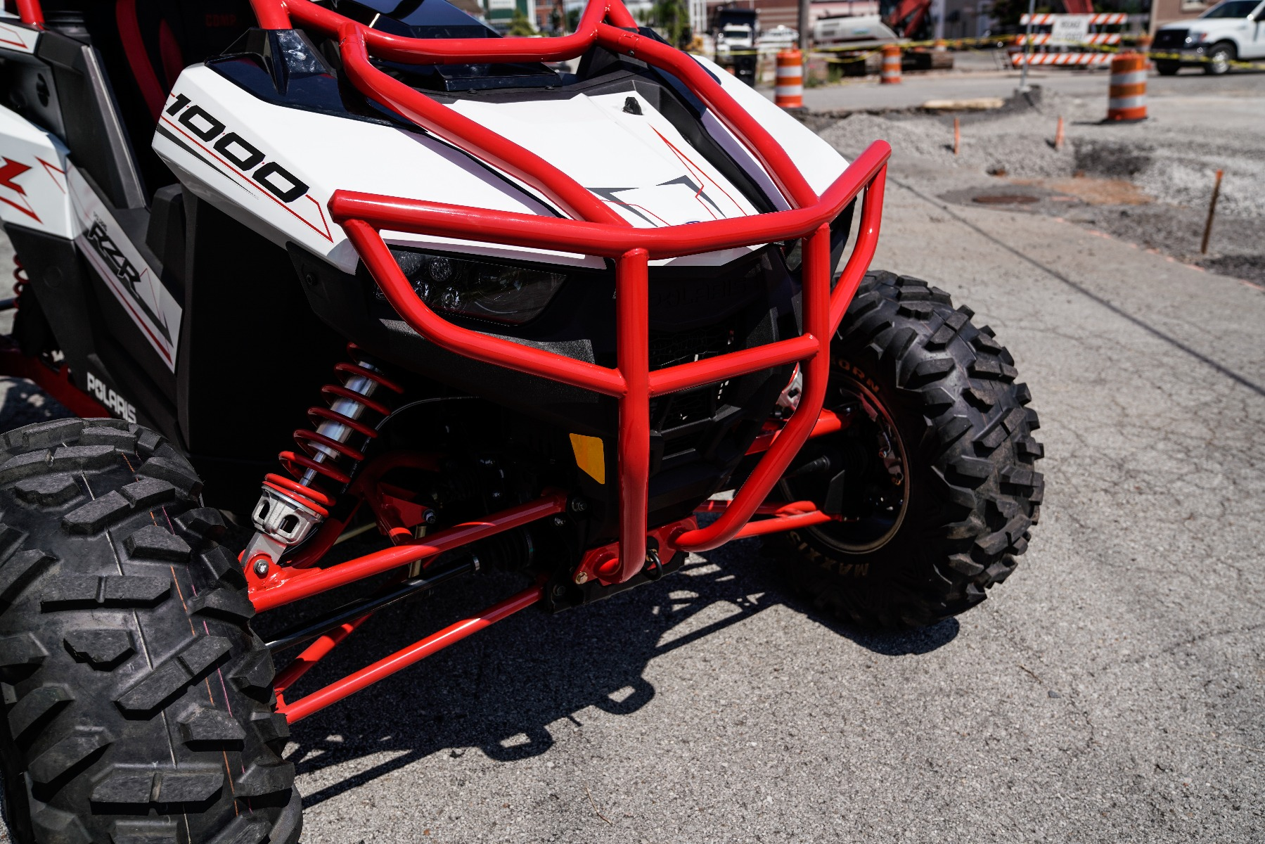 Polaris RZR RS1 Roll Cage in front of Wide Open Design Image 10