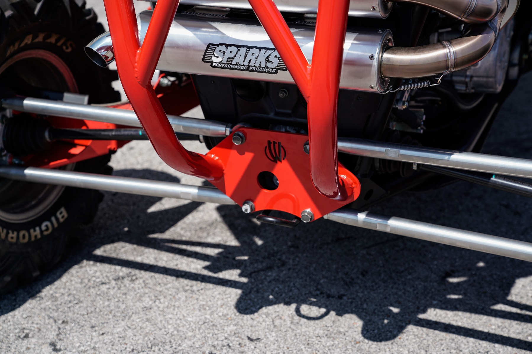 Polaris RZR RS1 Roll Cage in front of Wide Open Design Image 12