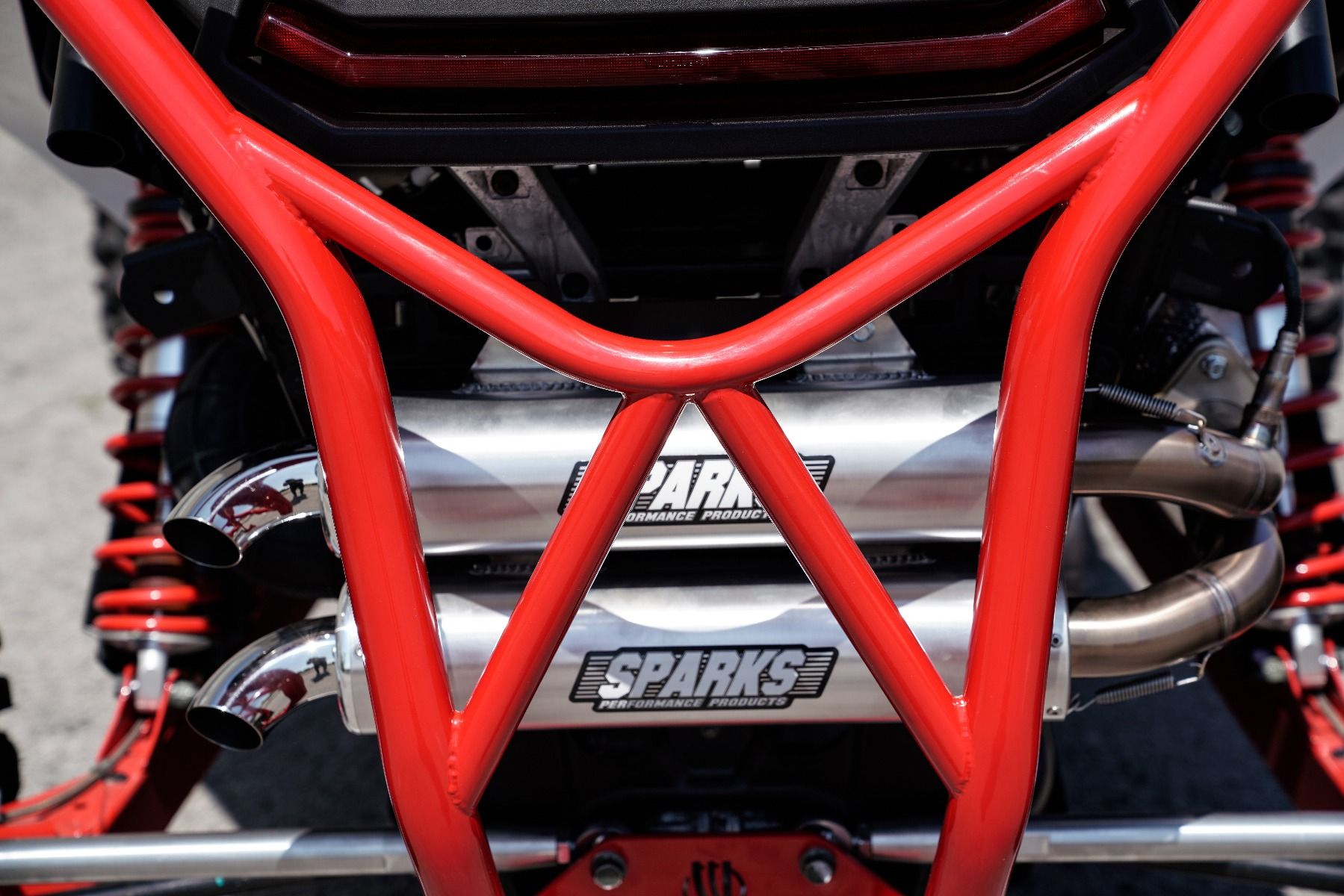 Polaris RZR RS1 Roll Cage in front of Wide Open Design Image 13