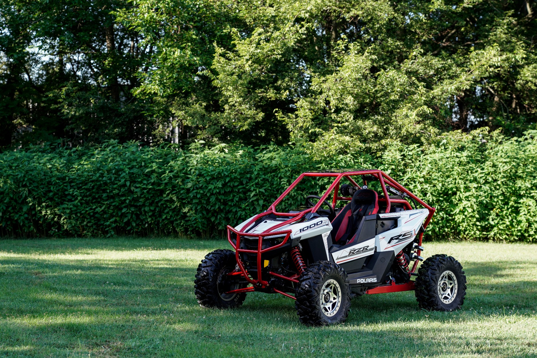 Polaris RZR RS1 Roll Cage in grass Image 2