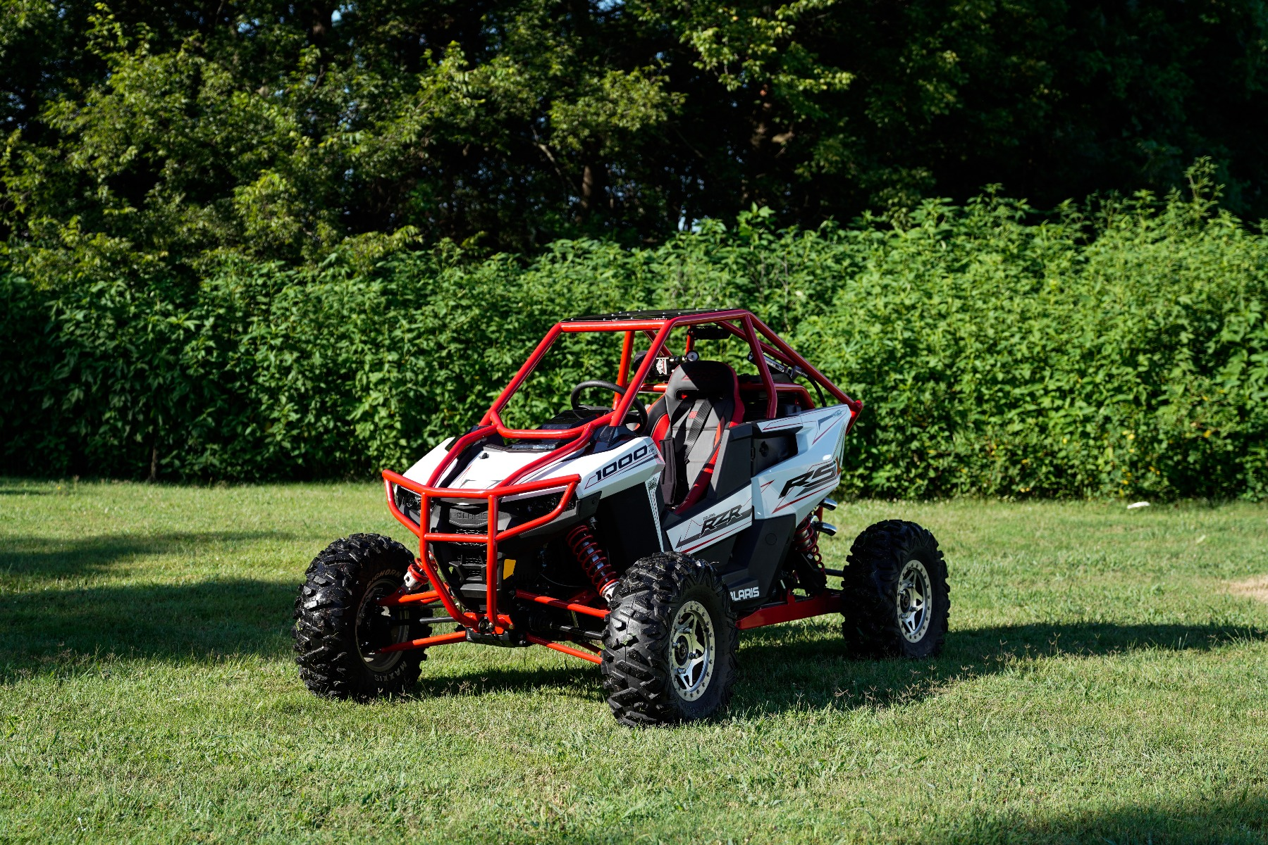 Polaris RZR RS1 Roll Cage in grass Image 5
