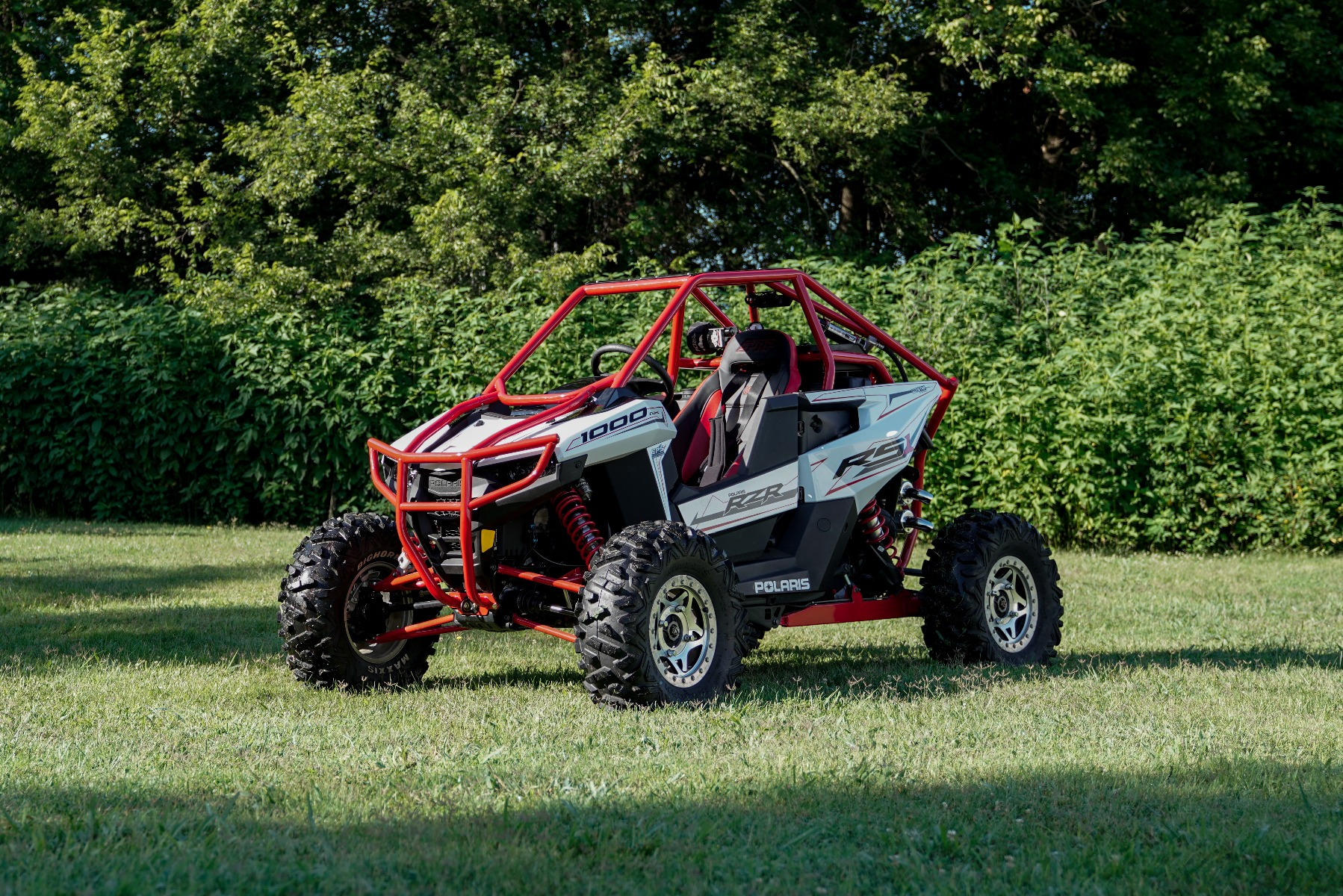 Polaris RZR RS1 Roll Cage in grass Image 7
