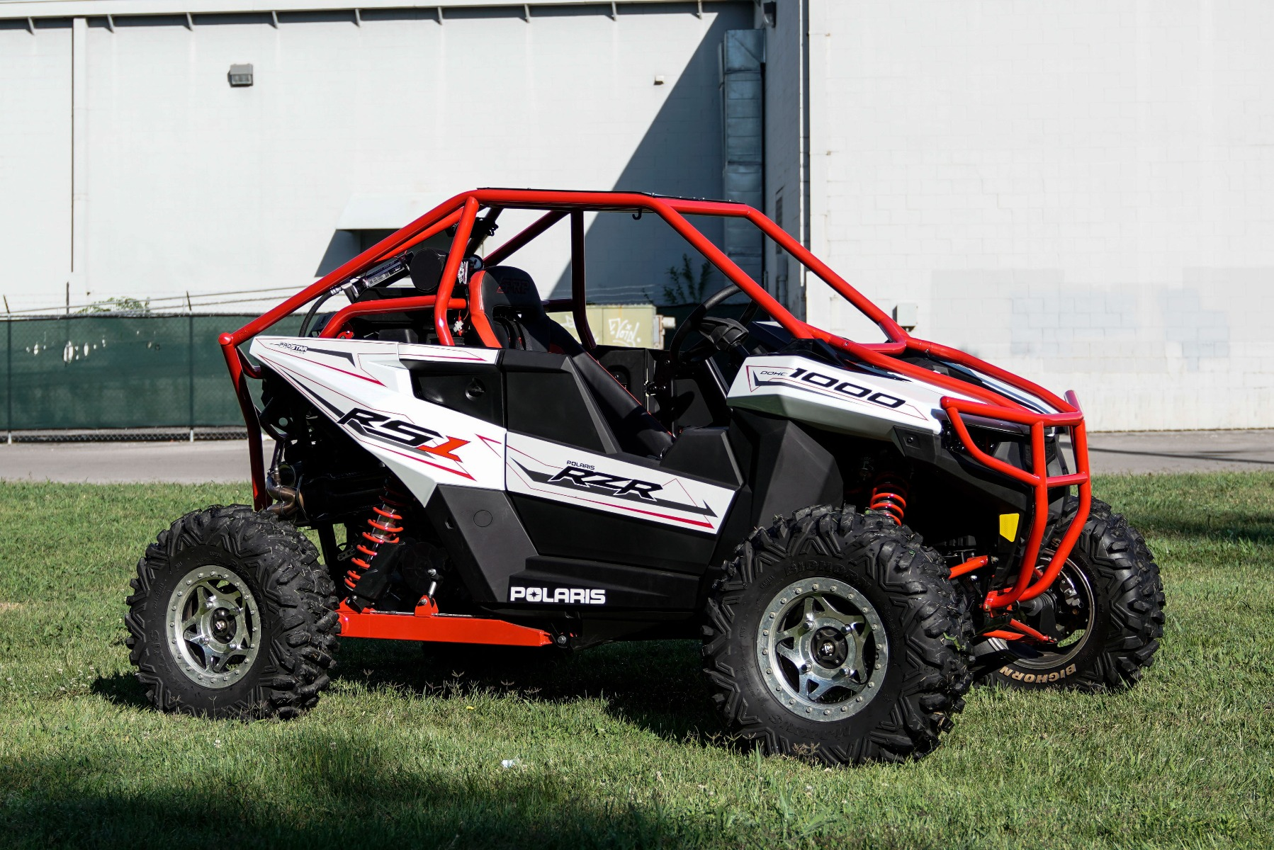 Polaris RZR RS1 Roll Cage in grass Image 9