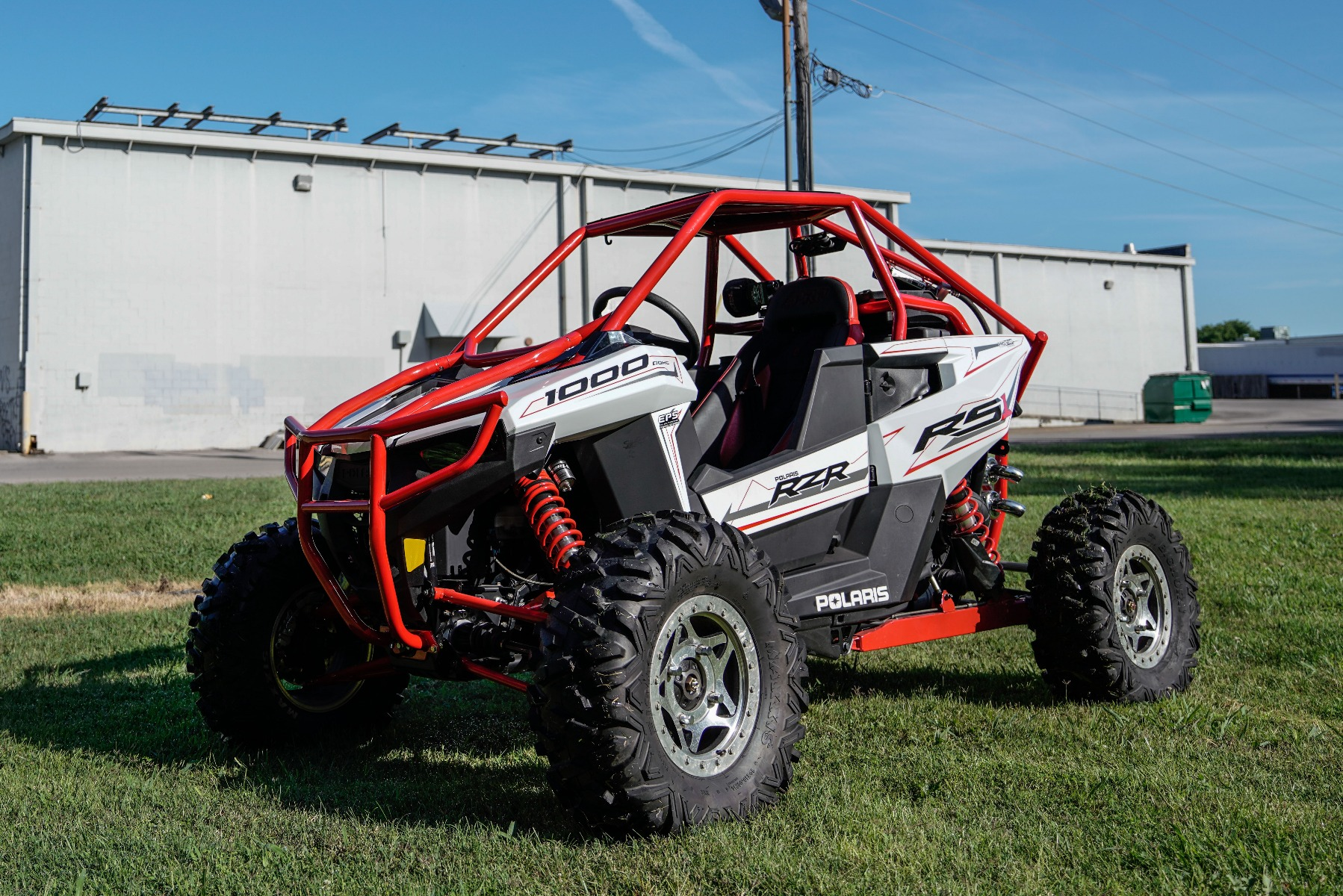 Polaris RZR RS1 Roll Cage in grass Image 14