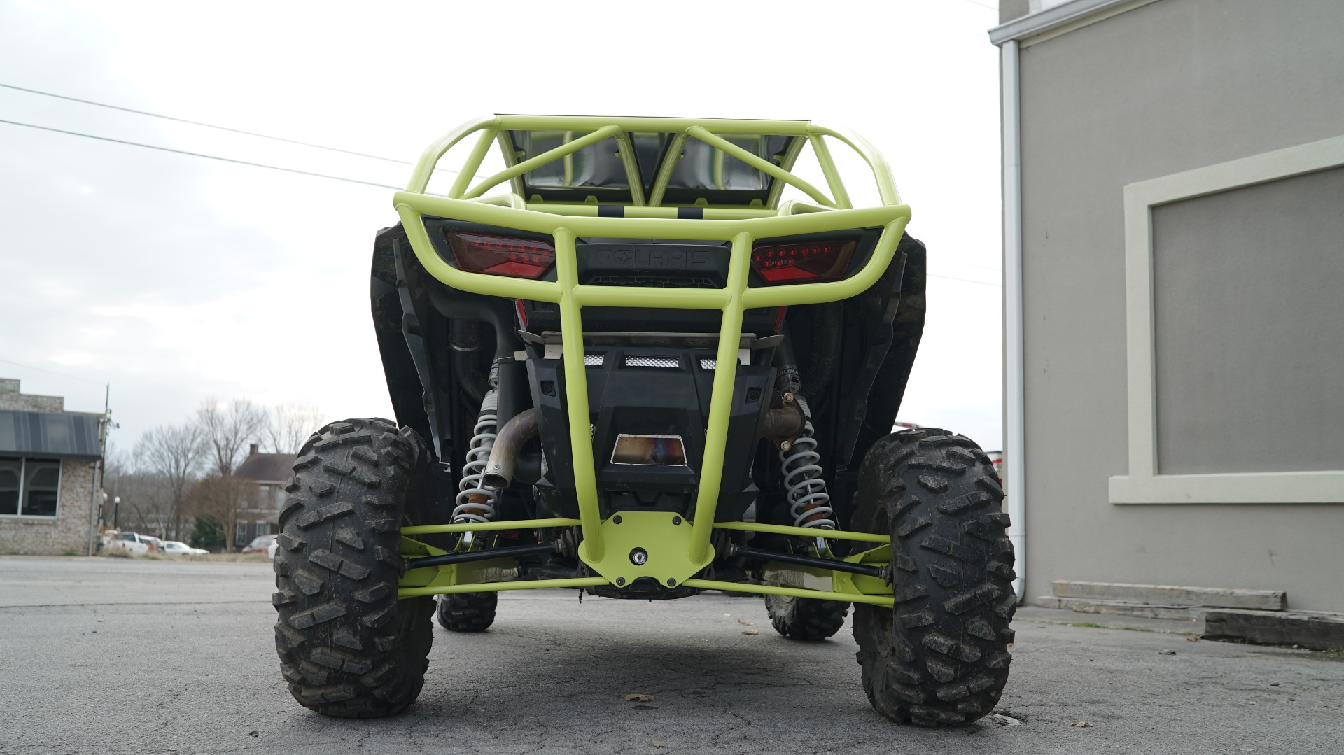 Polaris RZR 1000 with Yellow Roll Cage Image 8