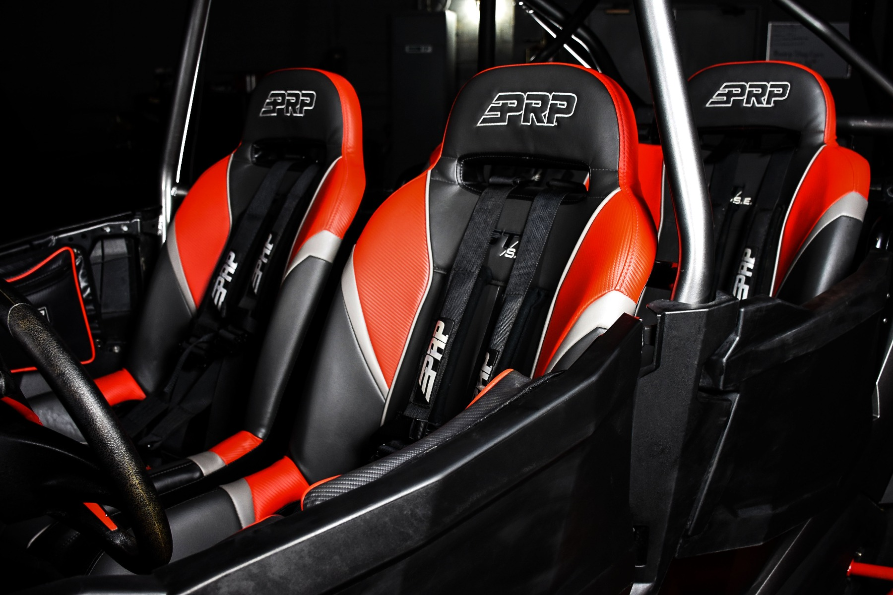 RZR 4 Seat XP 1000 with the Wide Open Design Venom Cage for sxs added protection 6