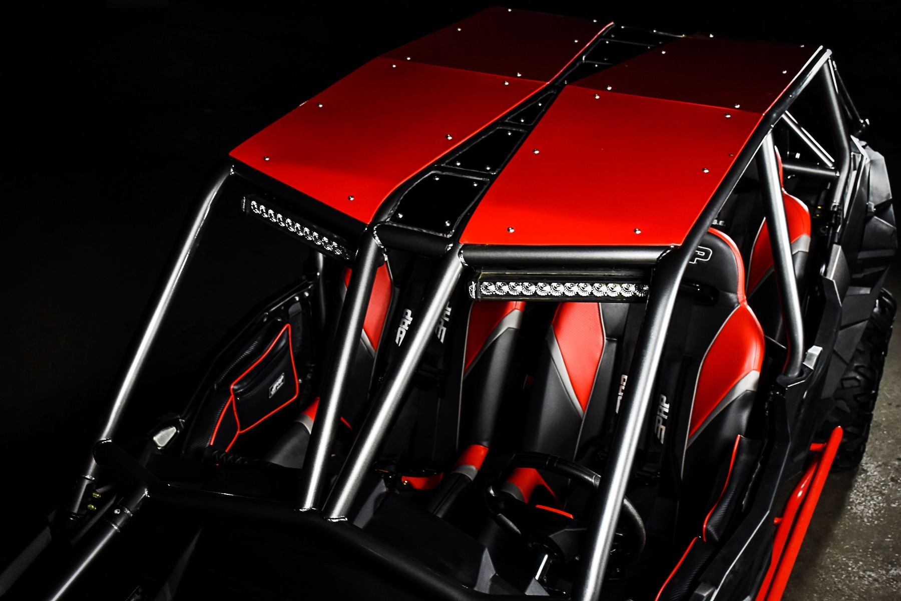 RZR 4 Seat XP 1000 with the Wide Open Design Venom Cage for sxs added protection 4