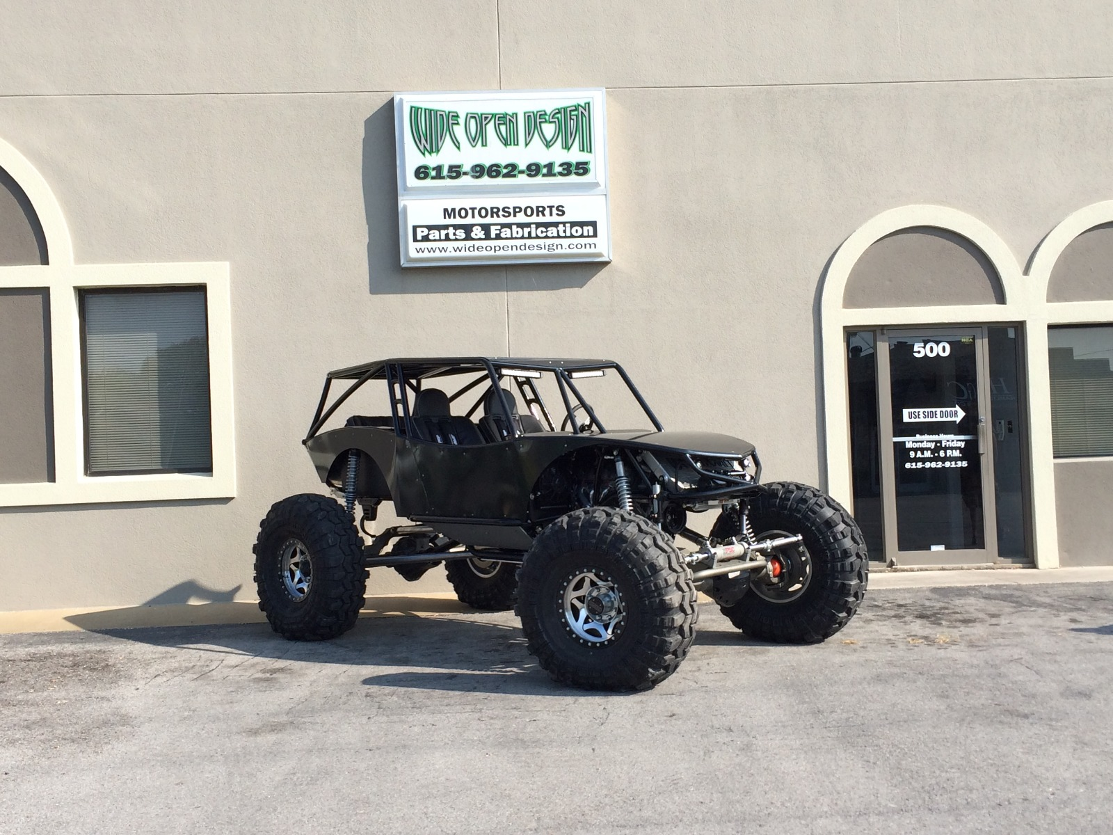 Revolution 4 Seat Rock Crawler Chassis Buggy 2