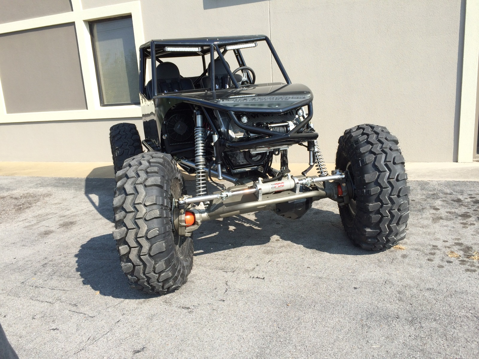 Revolution 4 Seat Rock Crawler Chassis Buggy 3