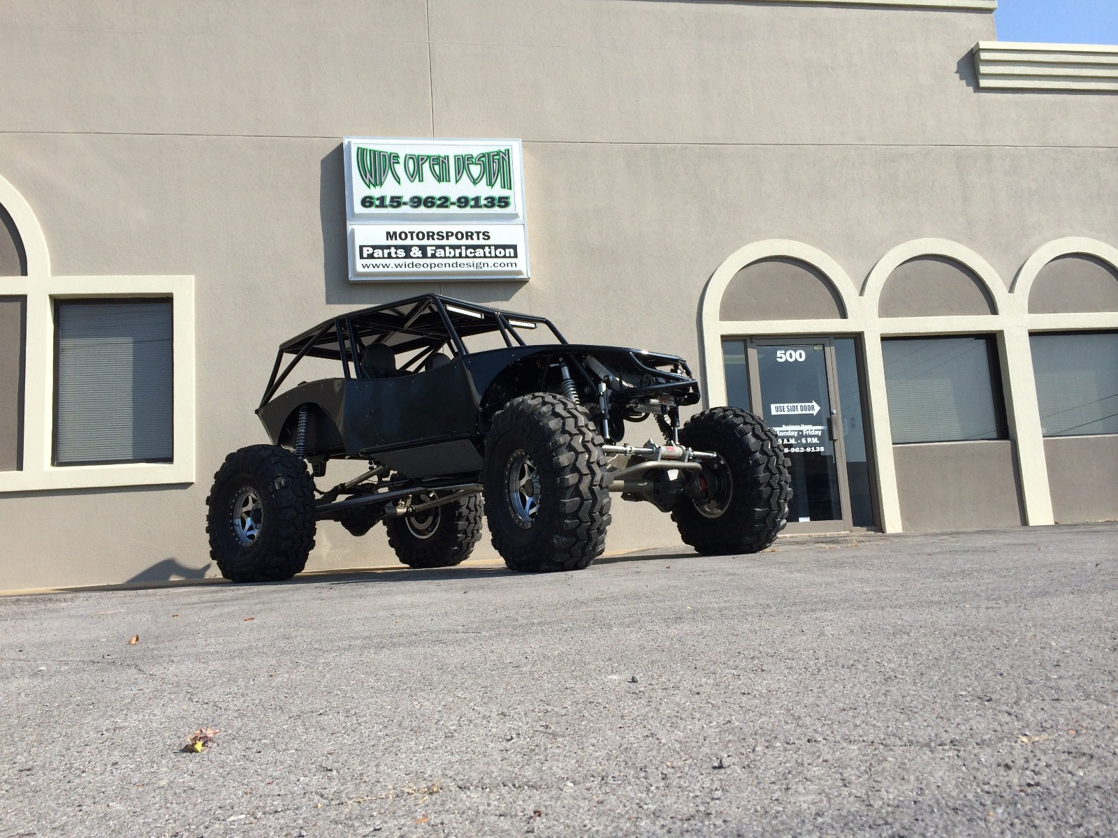 Revolution 4 Seat Rock Crawler Chassis Buggy 4