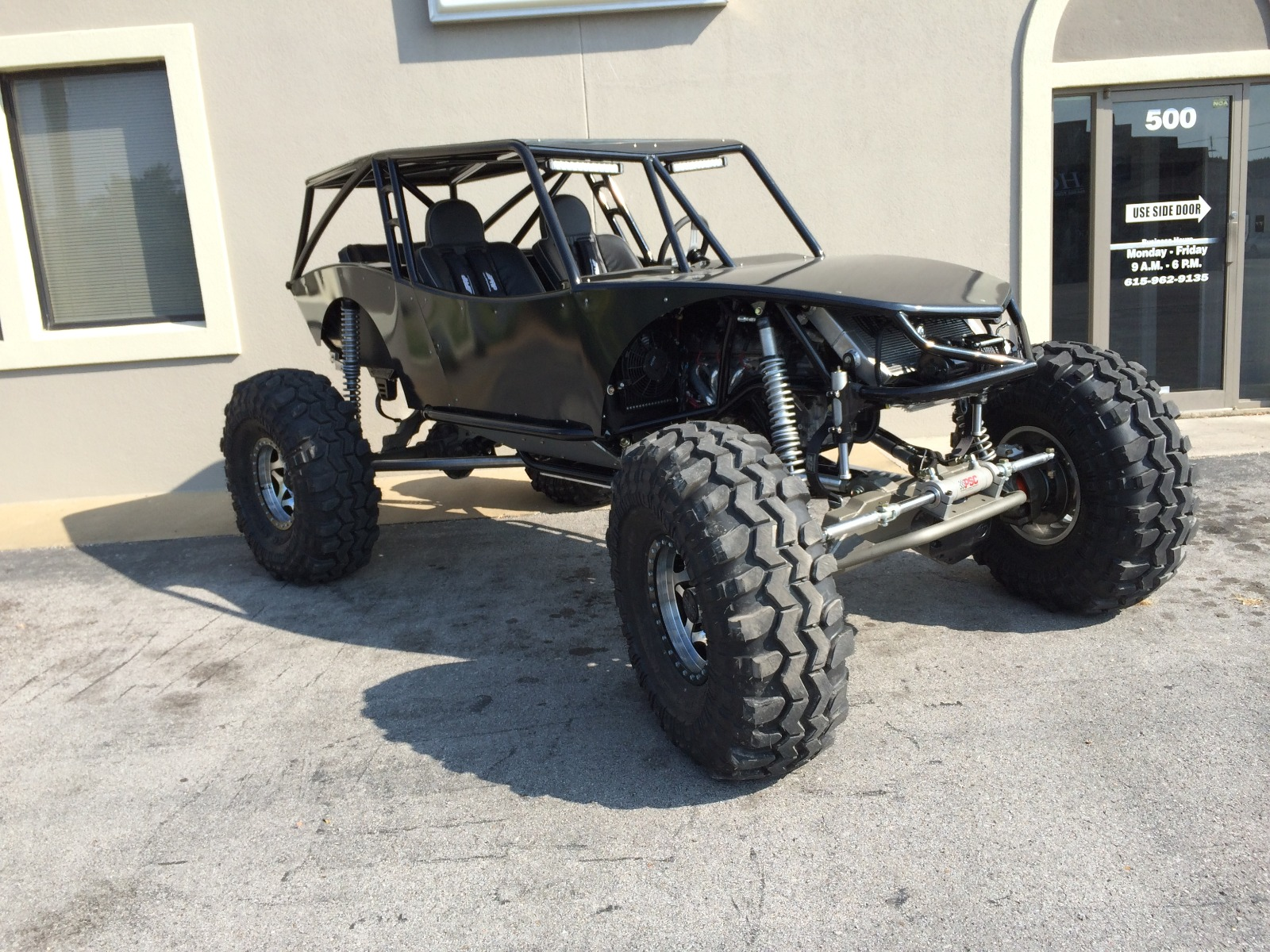 Revolution 4 Seat Rock Crawler Chassis Buggy 5