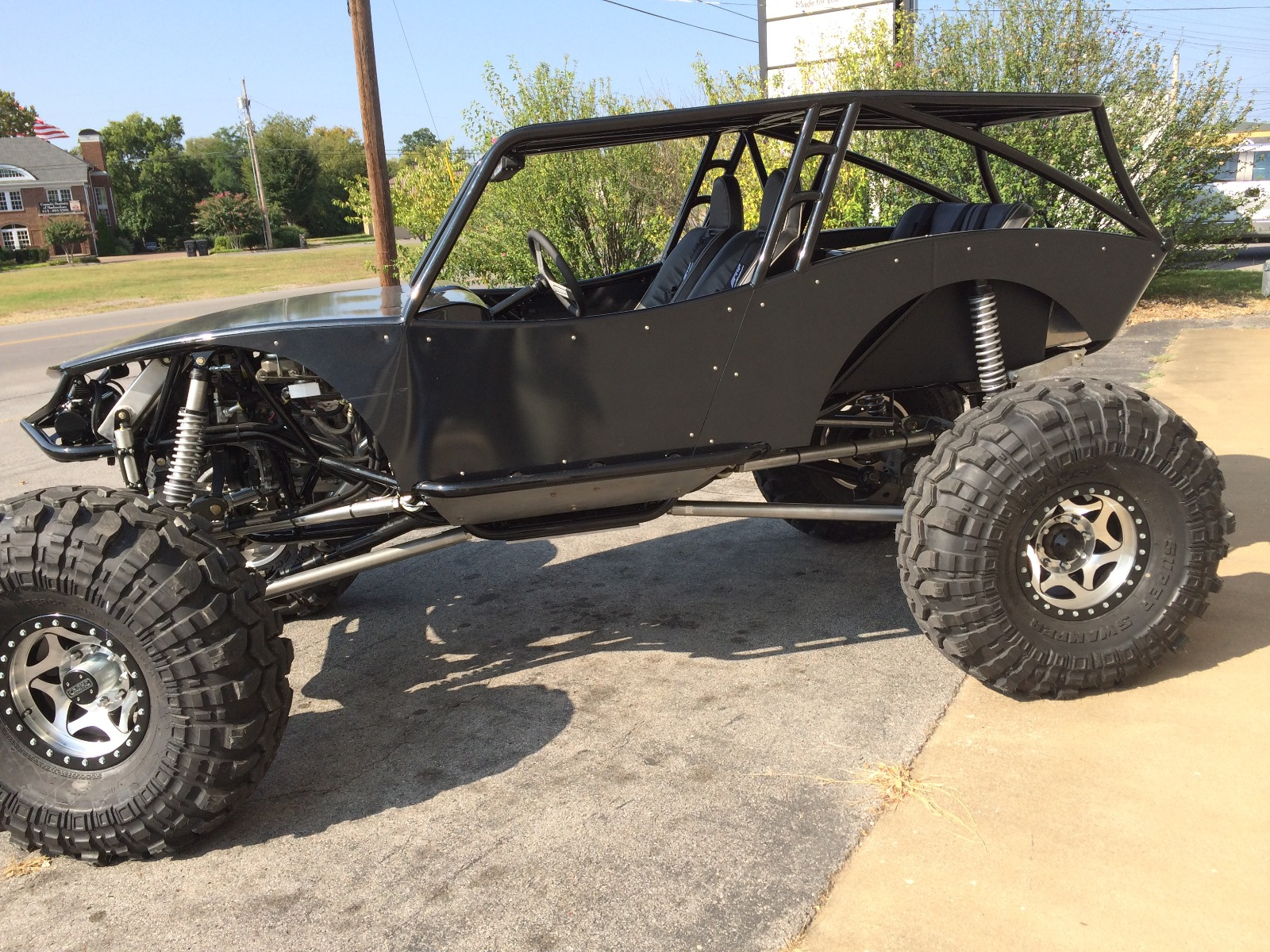 Revolution 4 Seat Rock Crawler Chassis Buggy 6