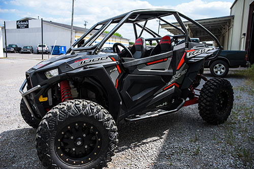 Polaris RZR XP 1000 Turbo Rolled Roof