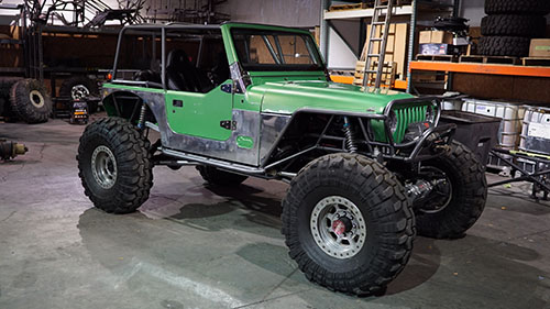 Green Tj Jeep Chassis Build