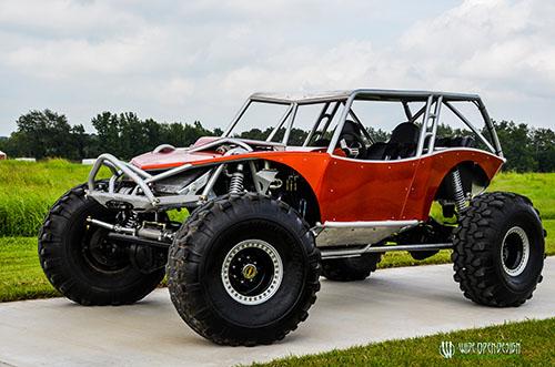 Copperhead 4 Seat Revolution Rock Crawler