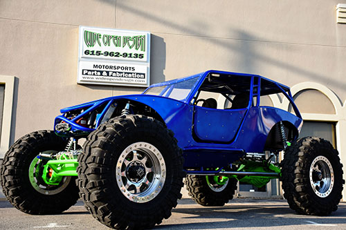 Greg Higgs Fab Fours Revolution 4 Seat Rock Crawler