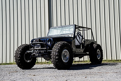 Jeep LJ Buggy Build