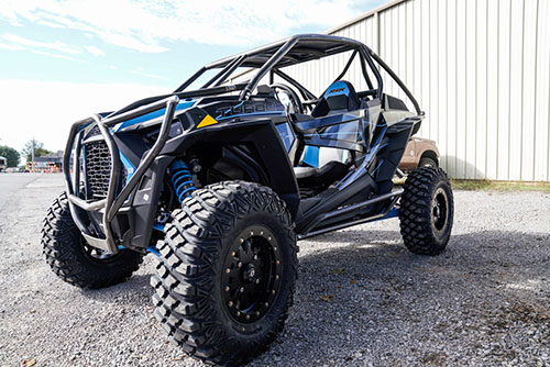 2019 Polaris RZR Turbo Rolled Roof Cage