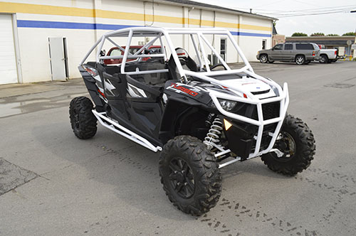 Polaris RZR XP4 1000 Rolled Roof Cage
