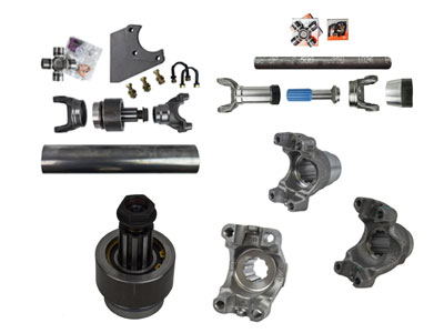 Drive Shaft Components and Yokes