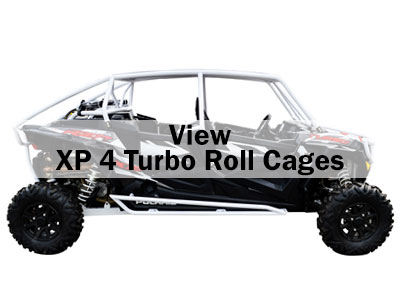 Polaris RZR XP 4 Turbo Roll Cages