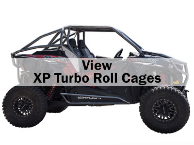 Polaris RZR XP Turbo Roll Cages
