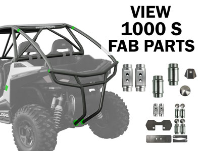 Polaris RZR 1000 S Fabrication Parts