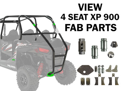 Polaris RZR 4 Seat XP 900 Fabrication Parts