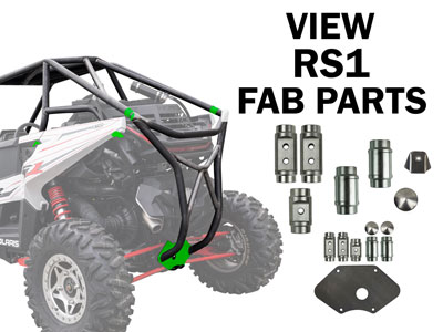 Polaris RZR RS1 Fabrication Parts
