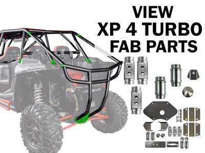 Polaris RZR XP 4 Turbo Fabrication Parts